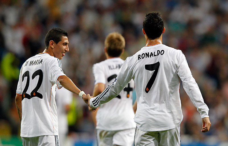 Cristiano Ronaldo Di Maria And Modric Have Played In Every Competitive Match Real Madrid Cf