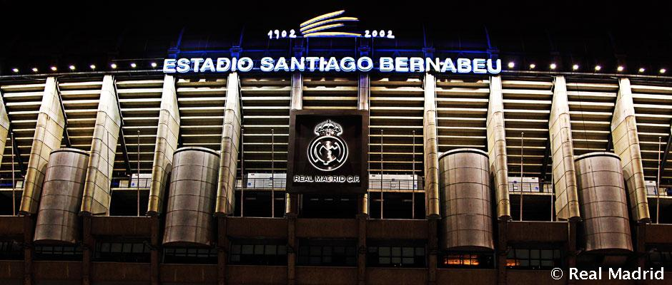 Estadio santiago bernab u real madrid cf for Puerta 38 santiago bernabeu
