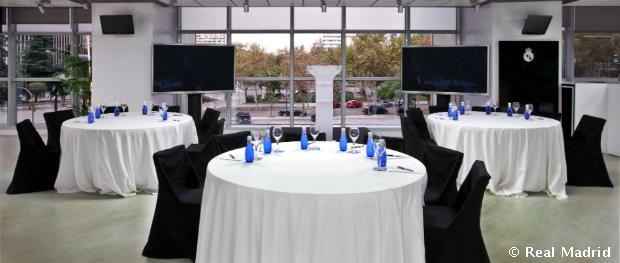 Real madrid sponsors room for events real madrid cf for Puerta 57 bernabeu