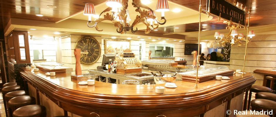 Porta 57 bernab u restaurants real madrid cf for Puerta 53 santiago bernabeu
