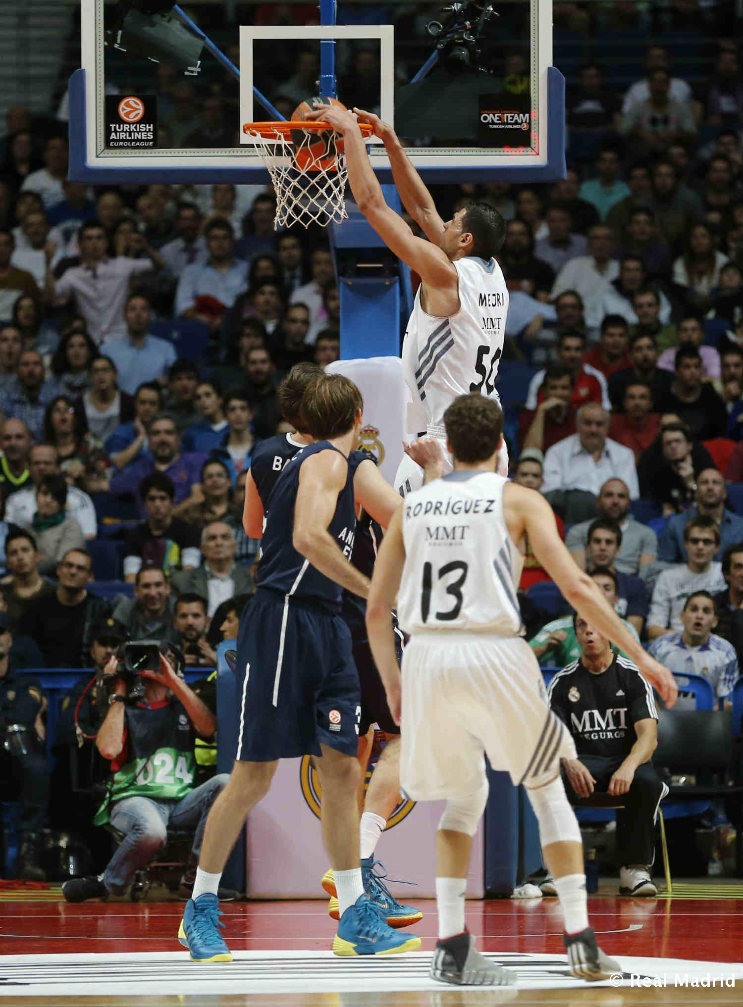 Real Madrid - Mejri - 27-01-2014
