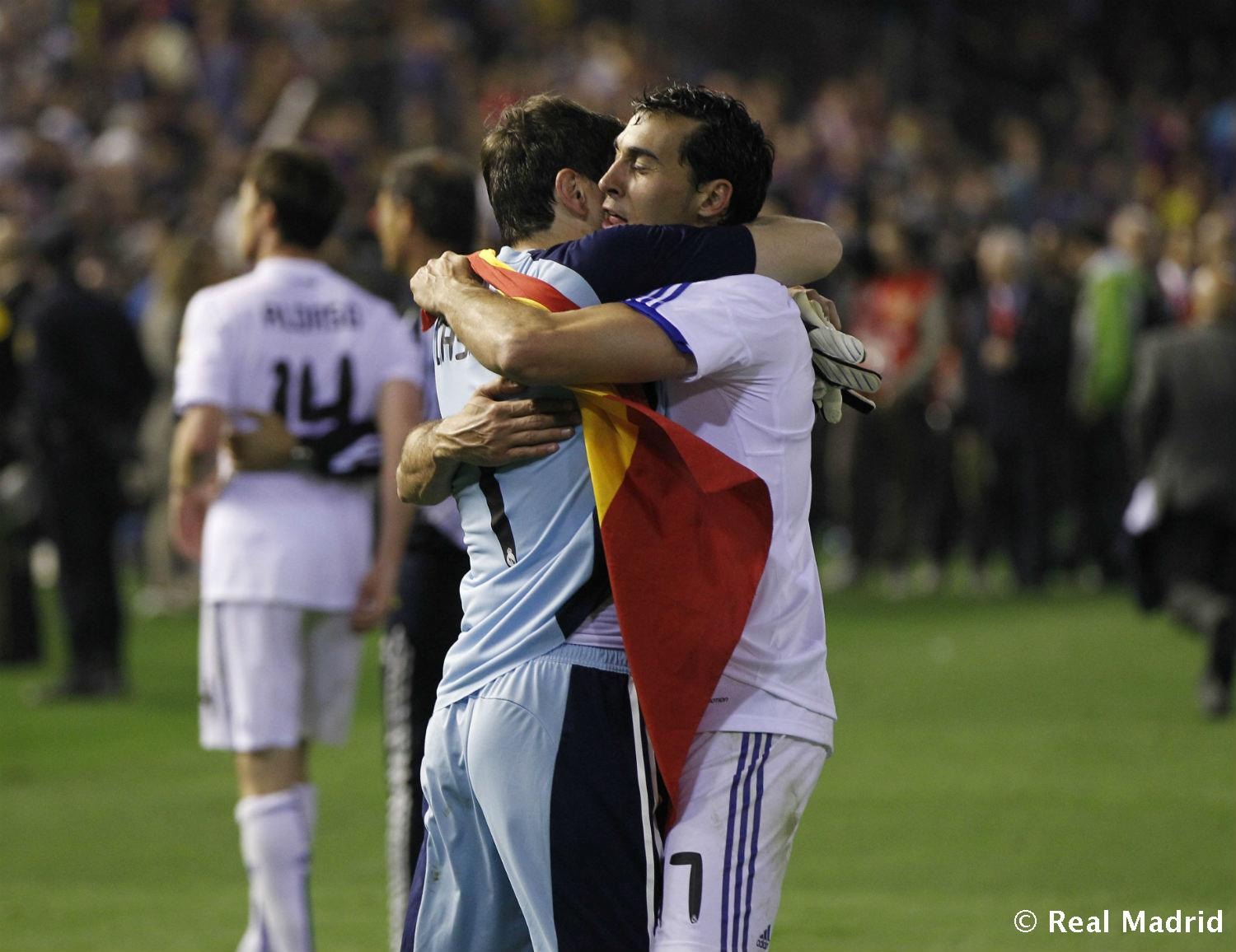 Real Madrid - Arbeloa e Iker Casillas - 27-01-2014