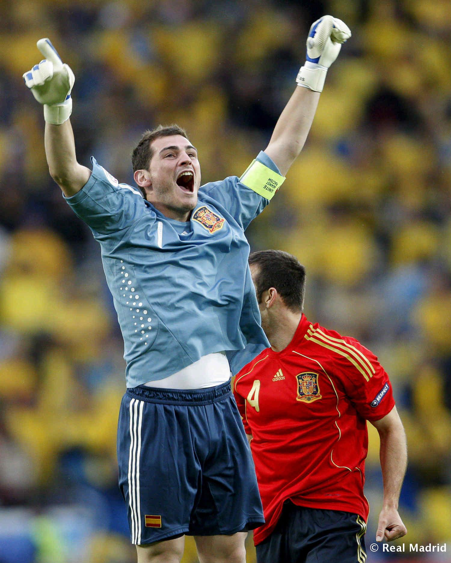 Real Madrid - Iker Casillas. Eurocopa 2008 - 27-01-2014