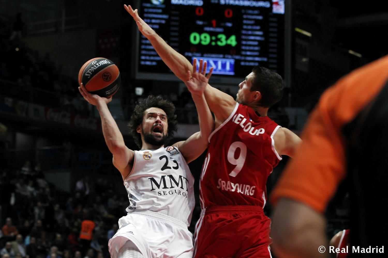Real Madrid - Llull - 27-01-2014