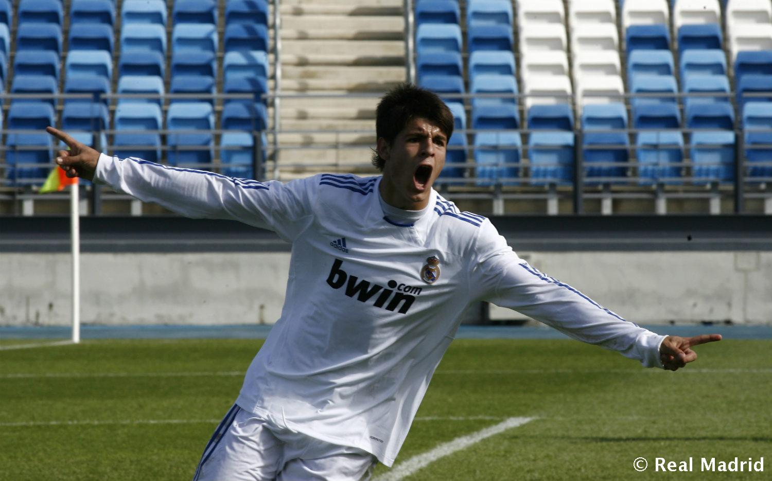 Real Madrid - Morata - 27-01-2014