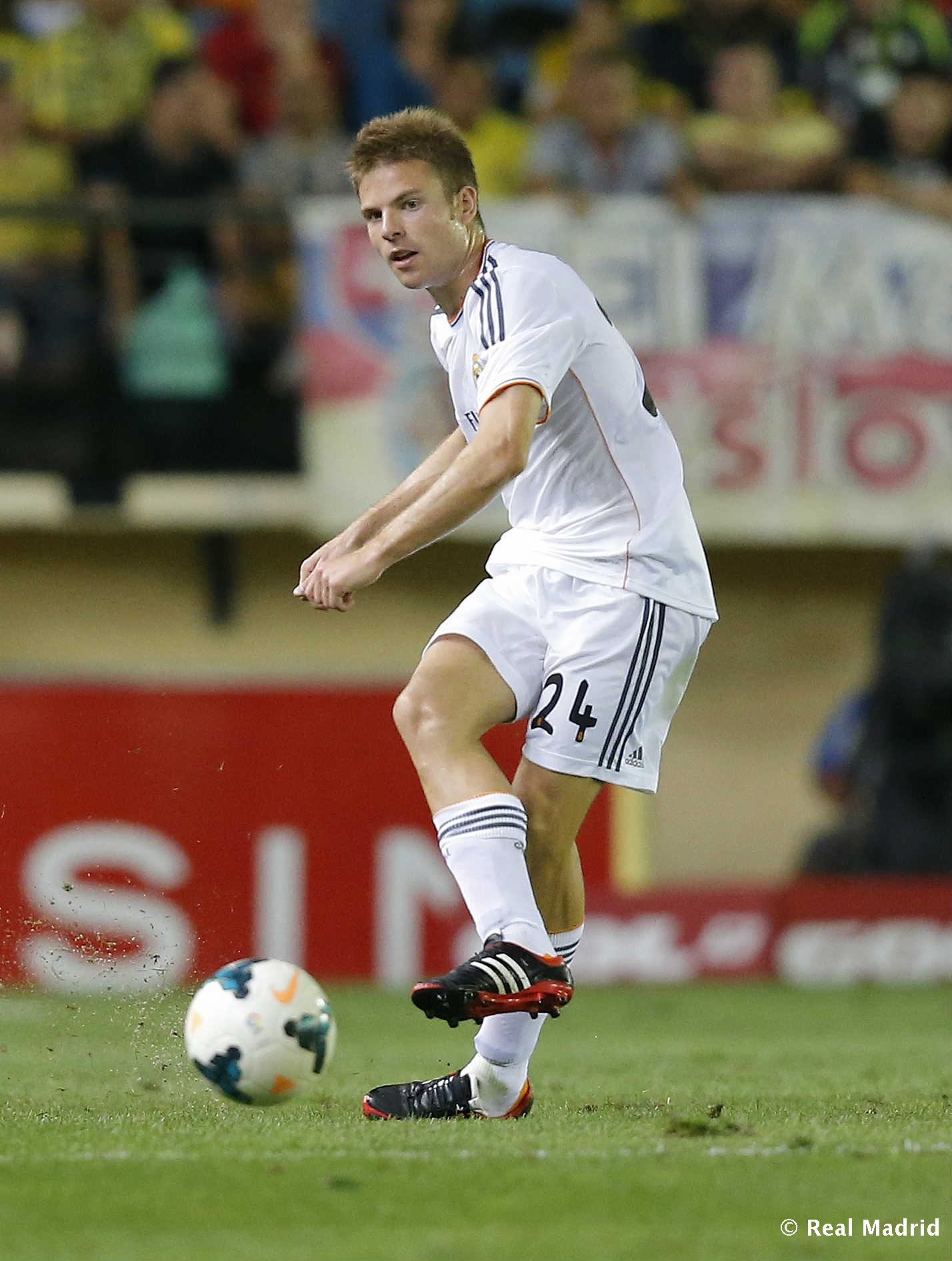 Real Madrid - Illarramendi. Villarreal-Real Madrid (2013), debut oficial - 27-01-2014