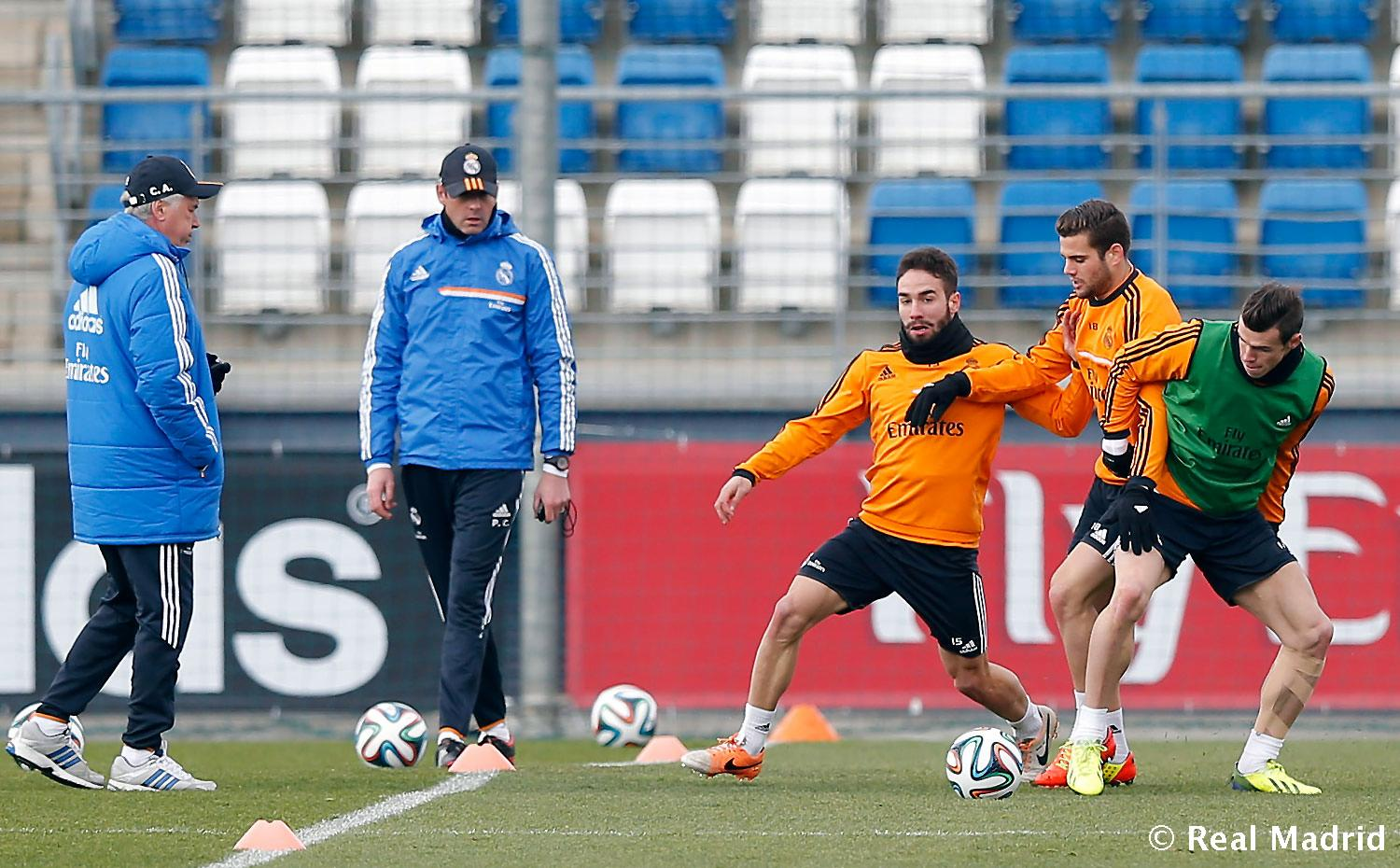 Real Madrid - Entrenamiento - 05-02-2014