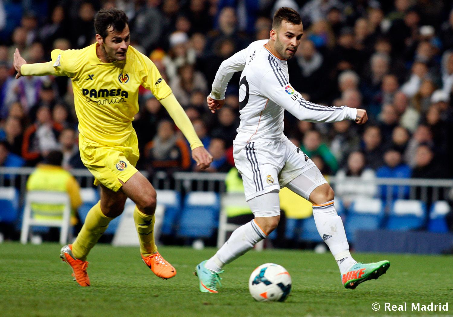 Real Madrid - Jese. Real Madrid - Villarreal - 09-02-2014