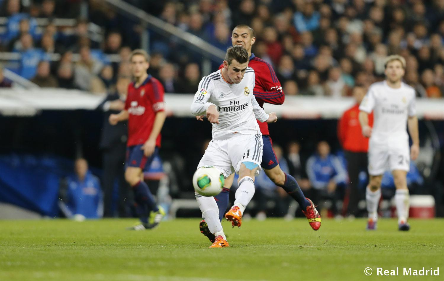 Real Madrid - Bale - 27-01-2014