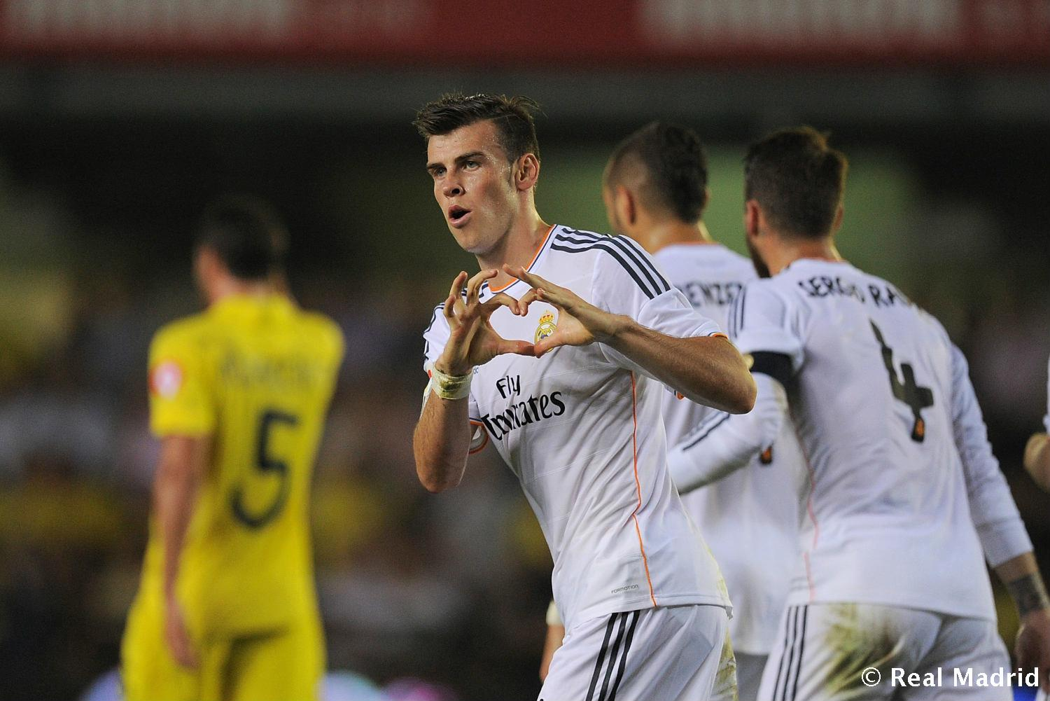 Real Madrid - Bale. Villarreal-Real Madrid (2013), debut en Liga - 27-01-2014