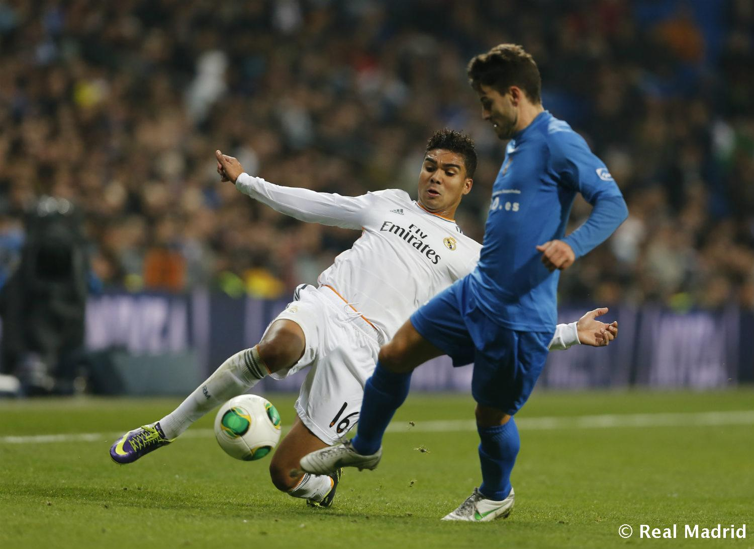 Real Madrid - Casemiro - 27-01-2014