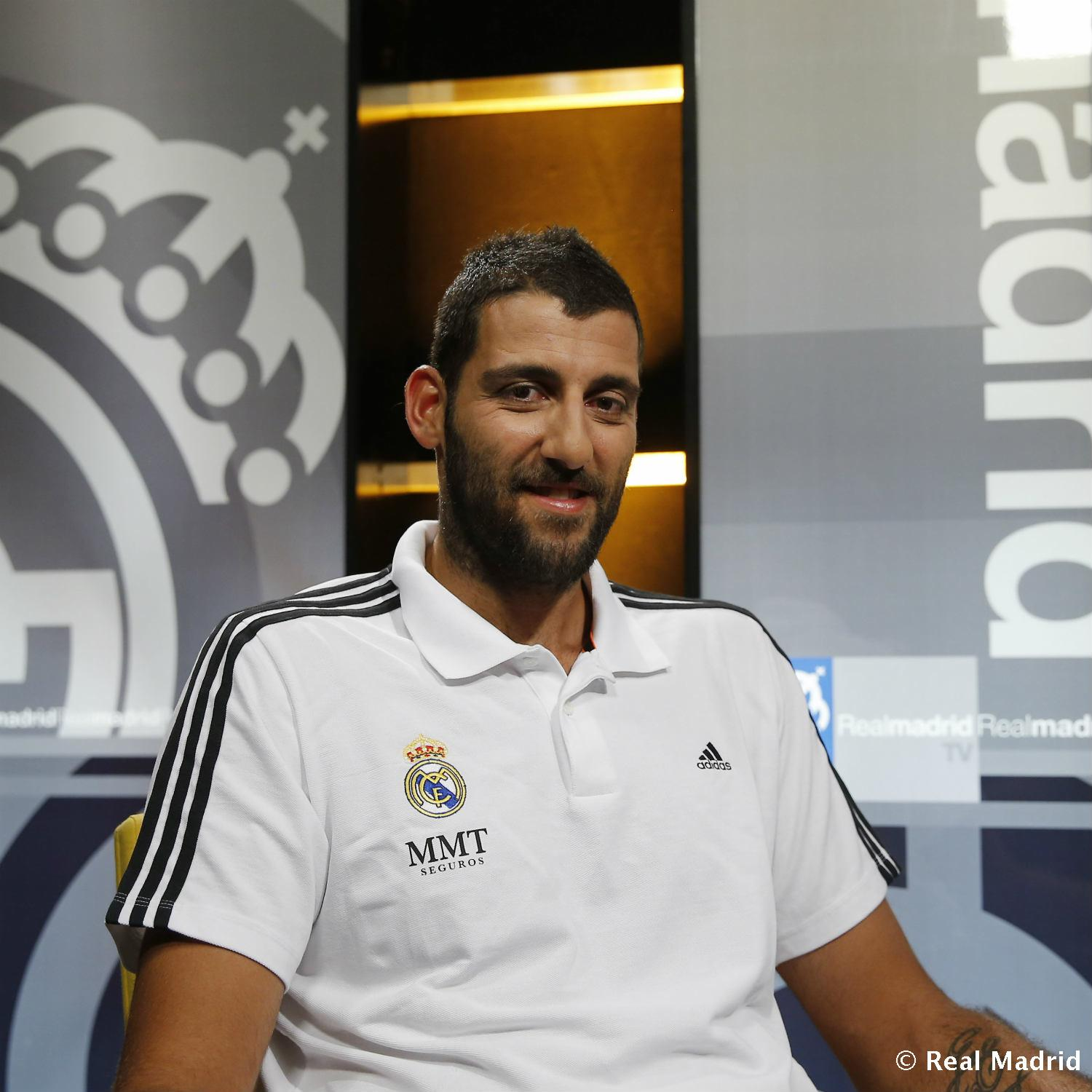 Real Madrid - Bourousis. Primera entrevista en Real Madrid TV - 27-01-2014