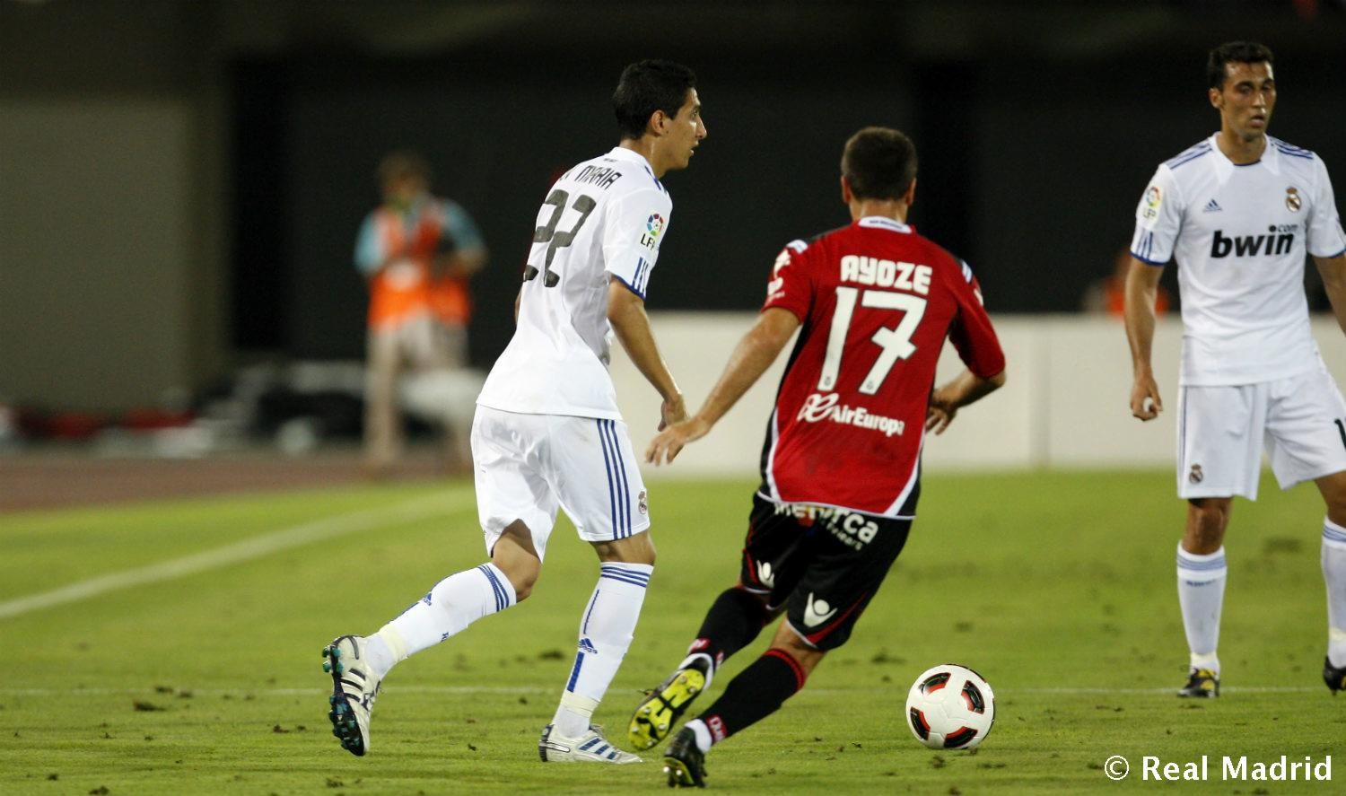 Real Madrid - Di María. Mallorca-Real Madrid (2010), debut en Liga - 27-01-2014