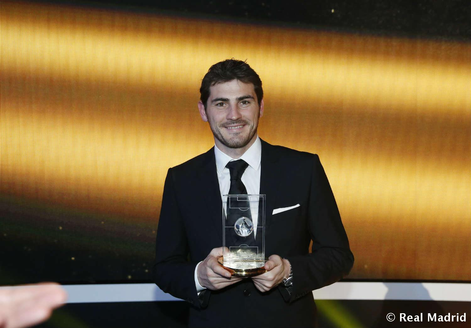 Real Madrid - Iker Casillas. FIFA/FIFPro World XI 2012 (2013) - 27-01-2014