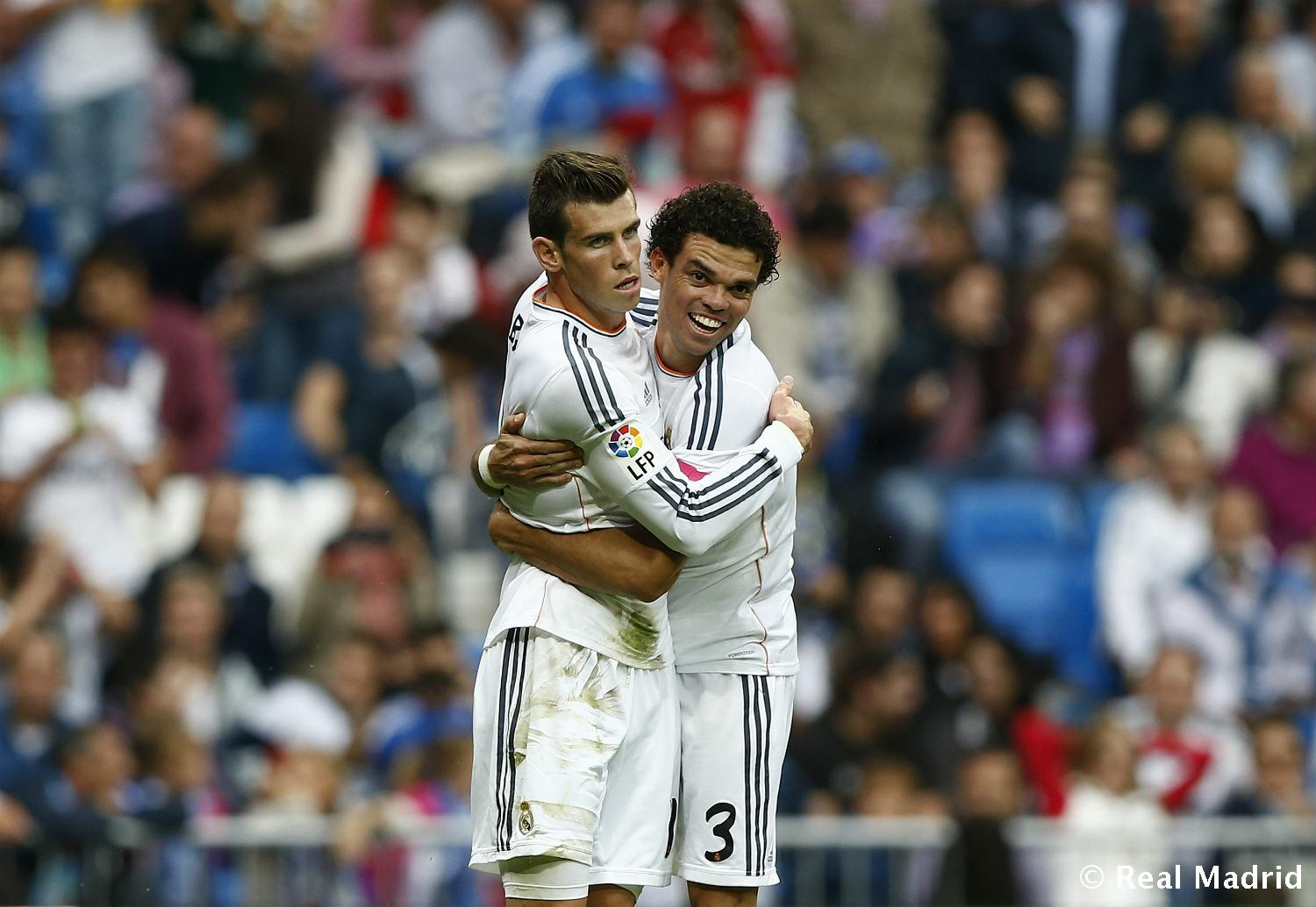 Real Madrid - Pepe y Bale - 27-01-2014