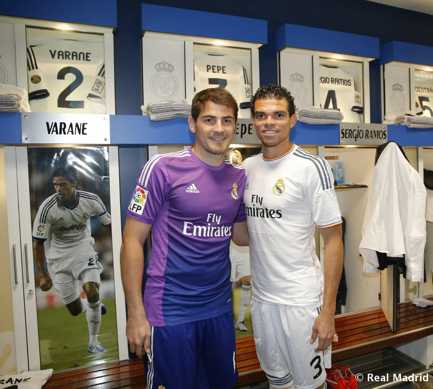 Real Madrid - Pepe e Iker Casillas - 27-01-2014