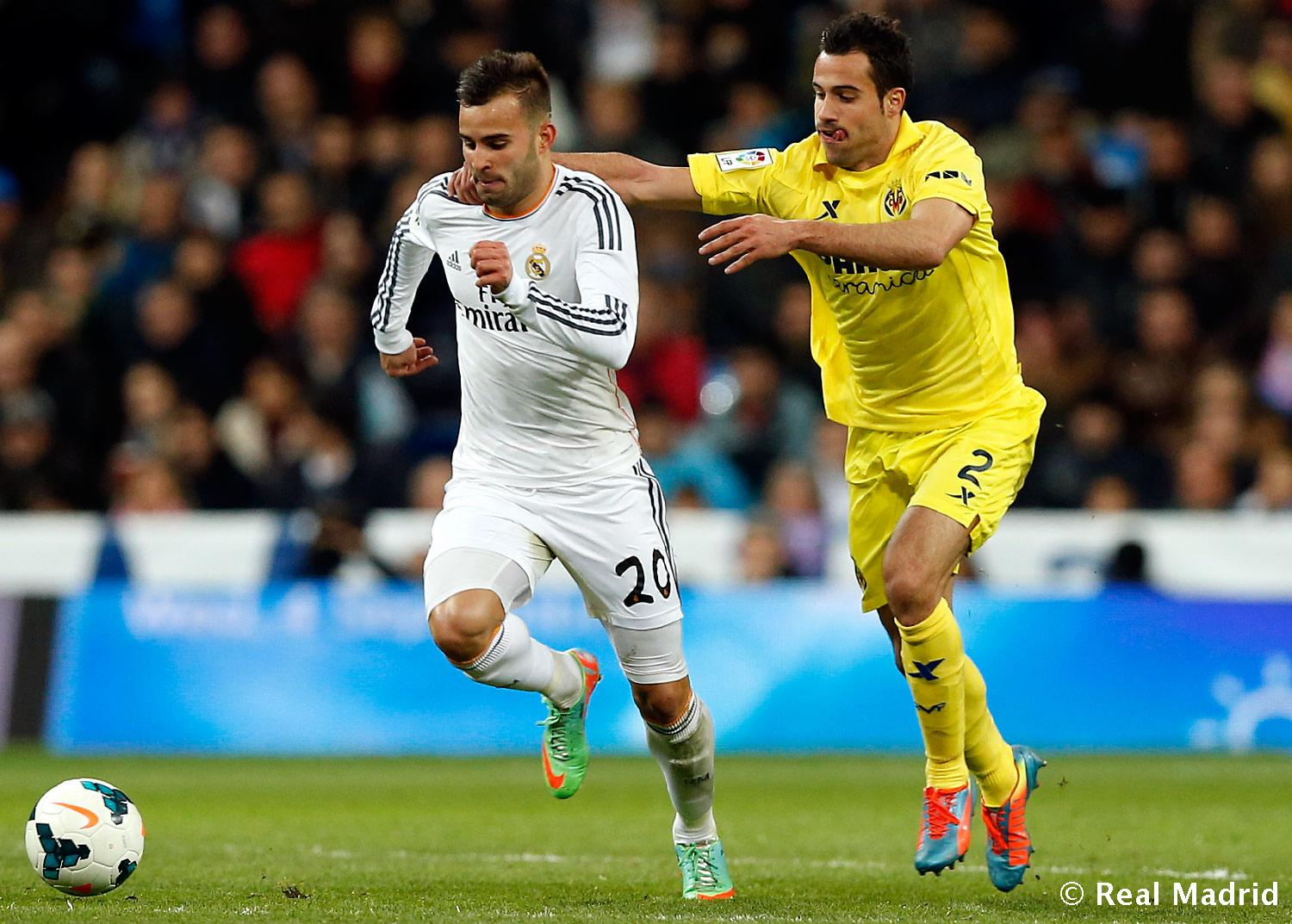 Real Madrid - Jesé. Real Madrid - Villarreal - 09-02-2014