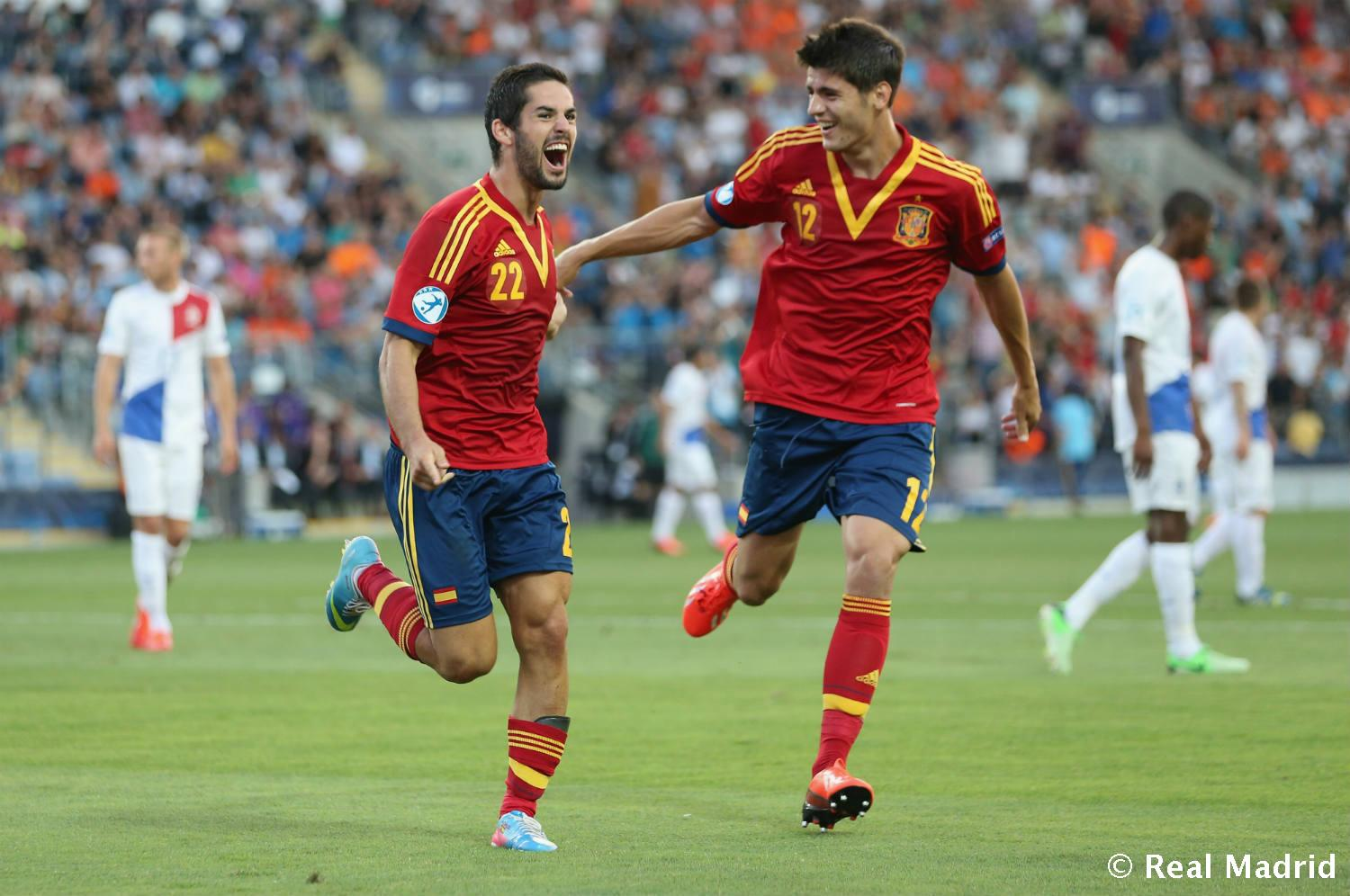 Real Madrid - Isco y Morata - 27-01-2014
