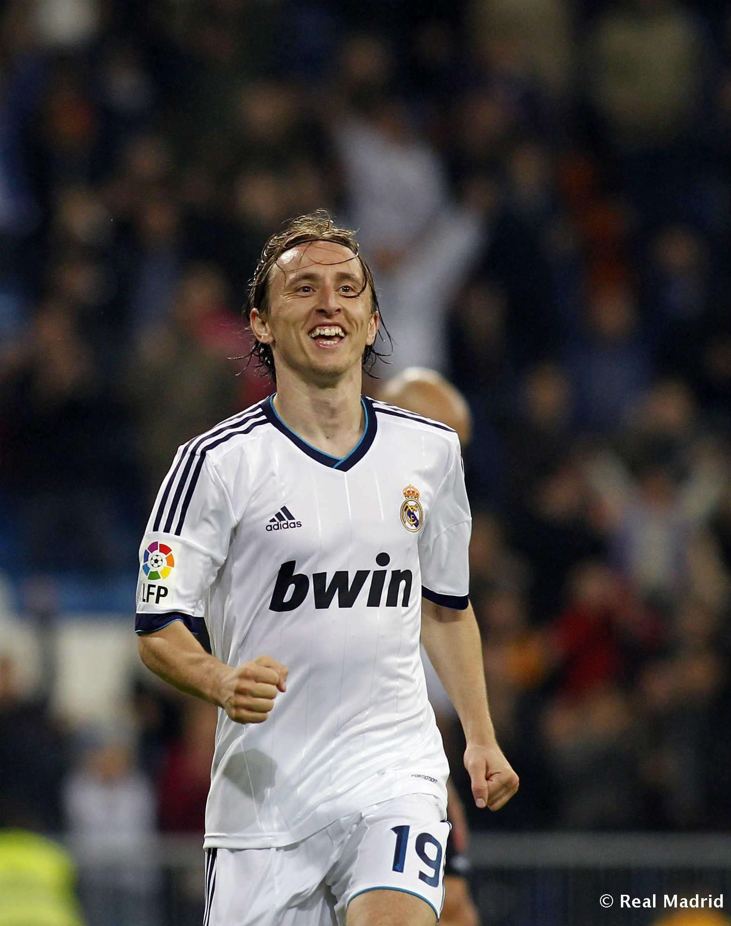 Real Madrid - Modric - 27-01-2014