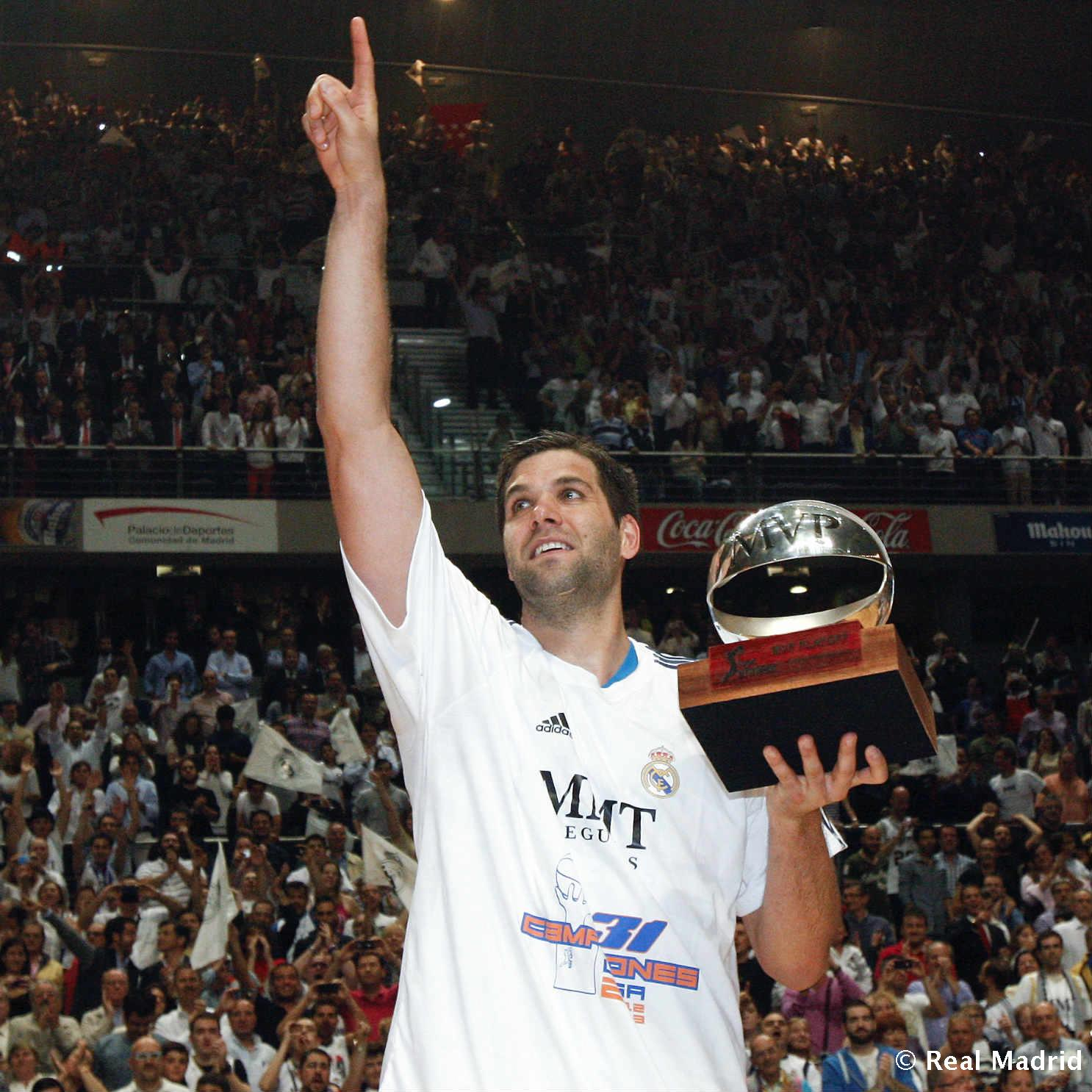 Real Madrid - Felipe Reyes. MVP de la final de la ACB (2013) - 27-01-2014