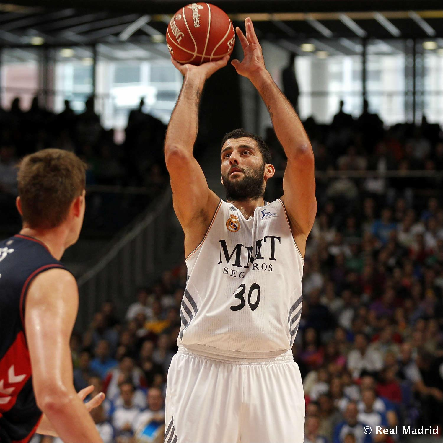 Real Madrid - Ioannis Bourousis - 27-01-2014