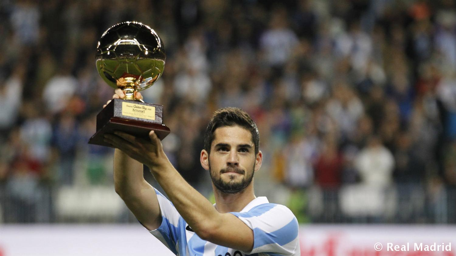 Real Madrid - Isco. Golden Boy 2012 - 27-01-2014