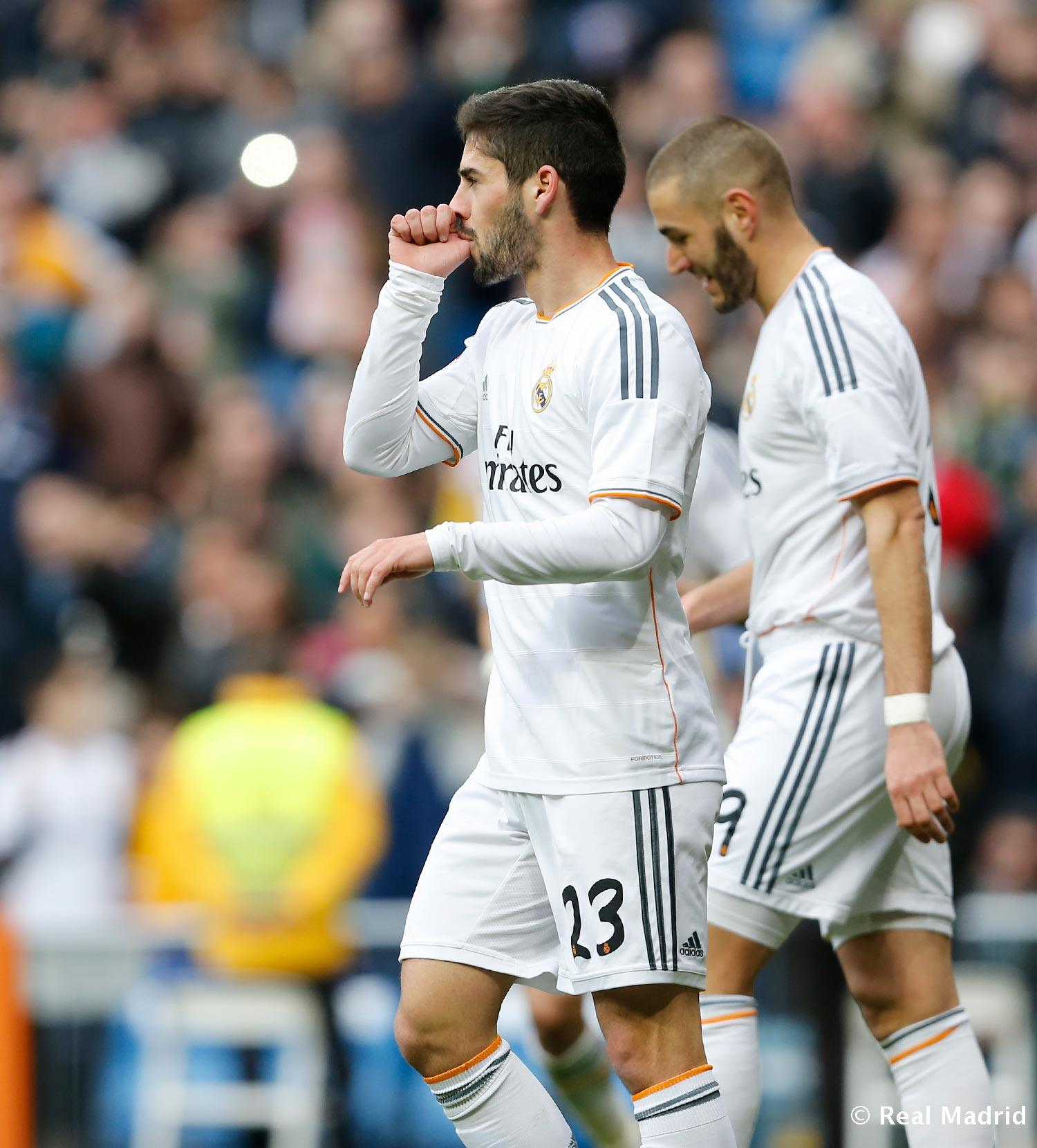 Real Madrid - Real Madrid- Elche - 22-02-2014
