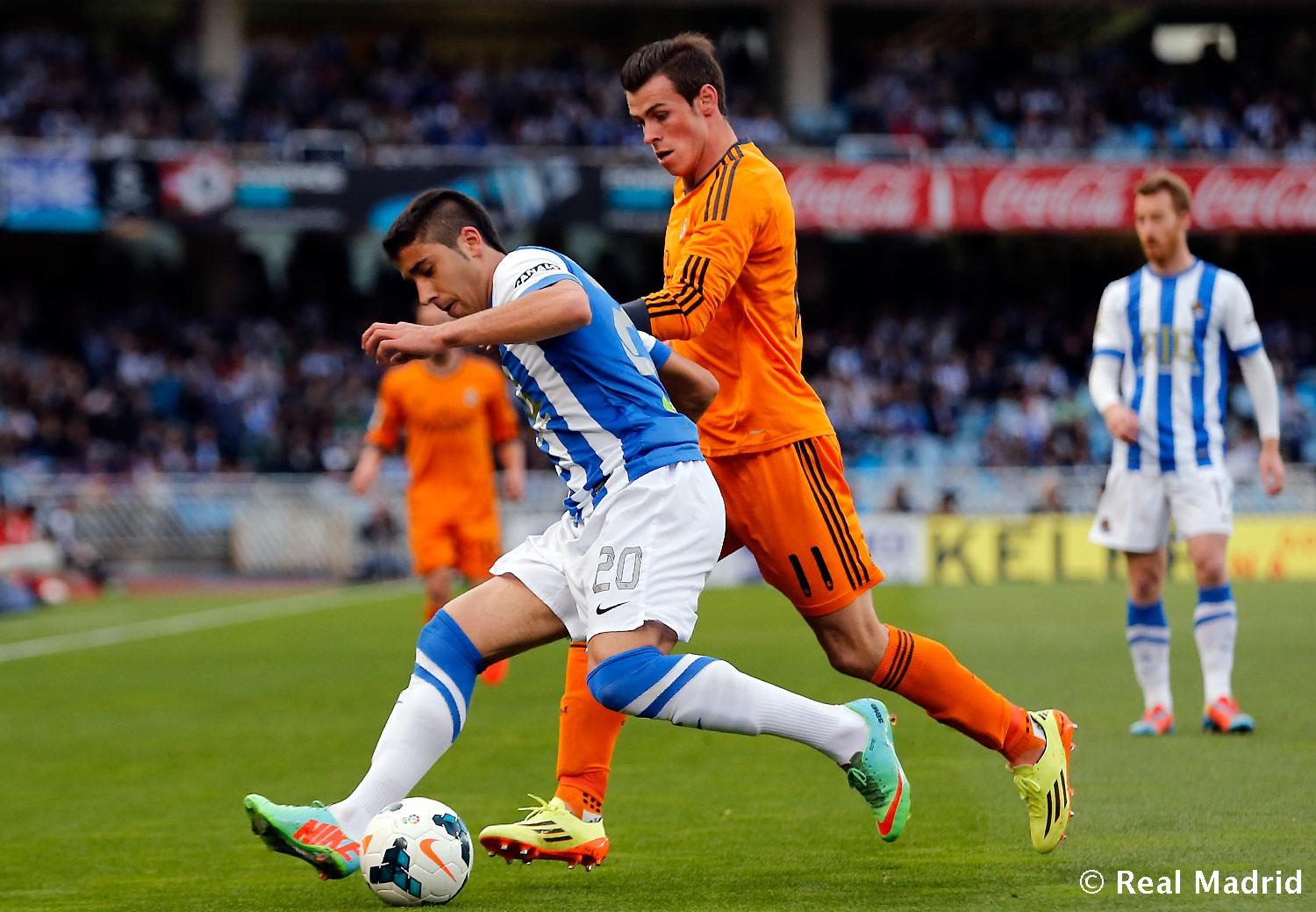 Real Madrid - Real Sociedad - Real Madrid - 05-04-2014