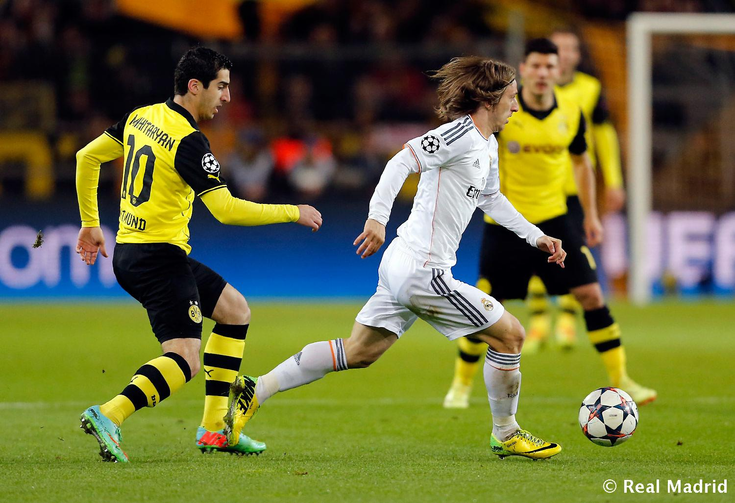 Real Madrid - Borussia Dortmund - Real Madrid - 08-04-2014