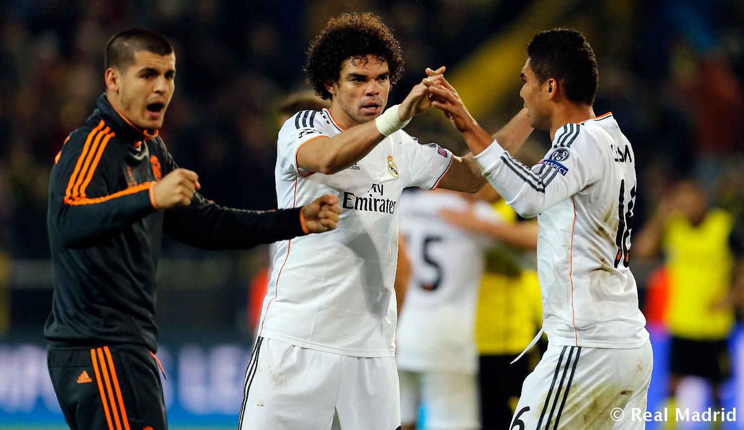 Real Madrid - Borussia Dortmund - Real Madrid - 09-04-2014