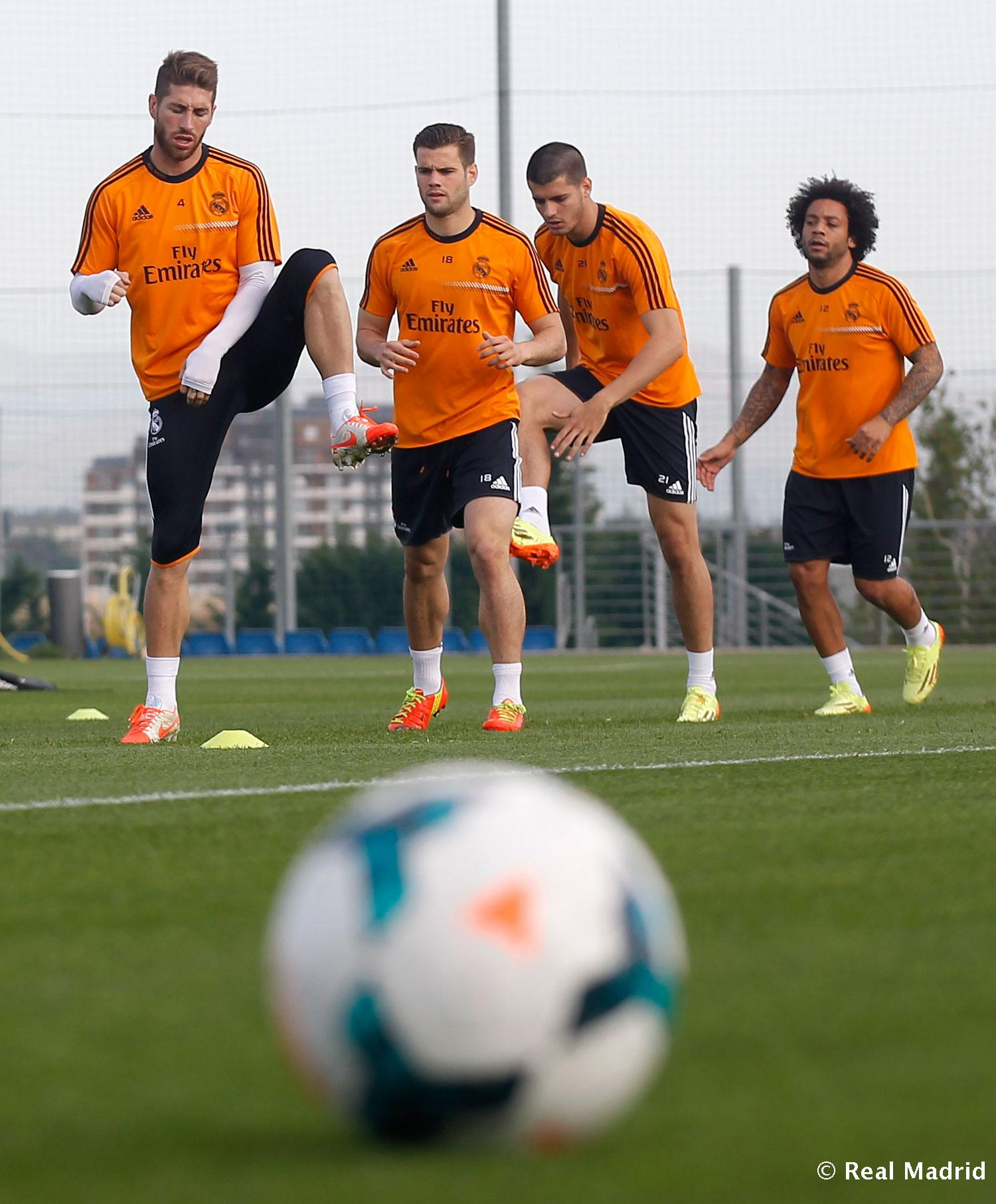 Real Madrid - Entrenamiento del Real Madrid - 10-04-2014