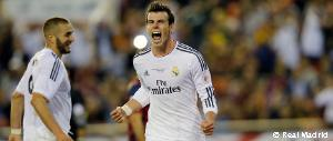 A look at Bale's title-winning goal