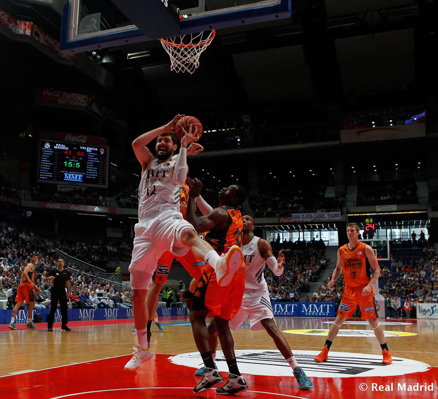 Real Madrid - Real Madrid - Valencia Basket - 27-04-2014