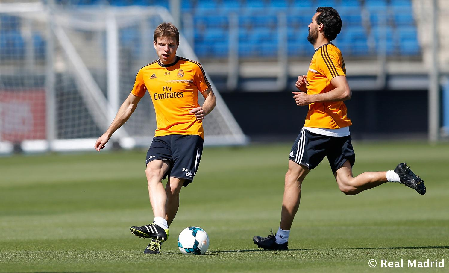 Real Madrid - Entrenamiento del Real Madrid - 05-05-2014