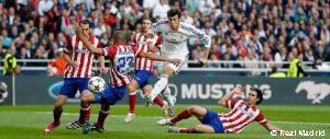 Gareth Bale's goal against Atletico in the Champions League final