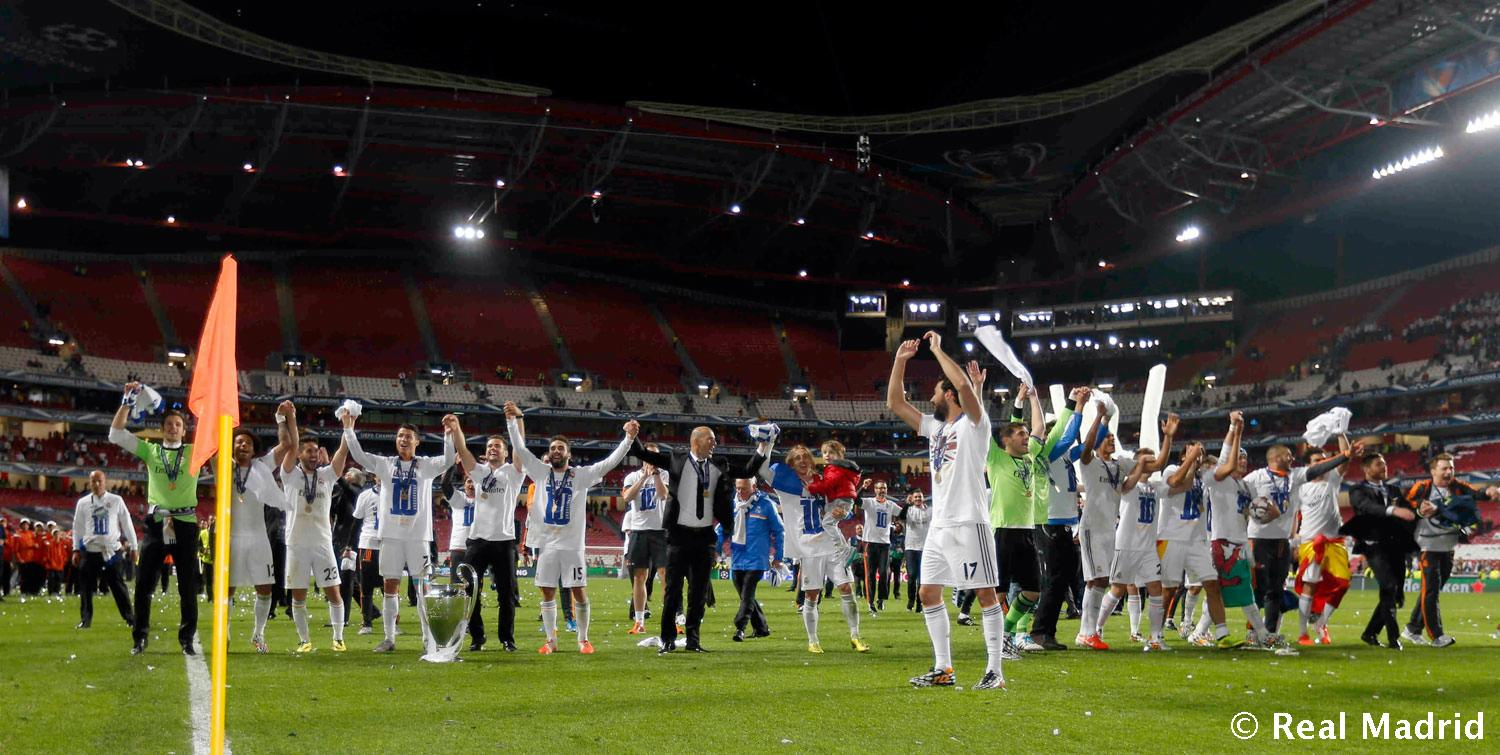 Real Madrid - Campeones Champions League - 25-05-2014
