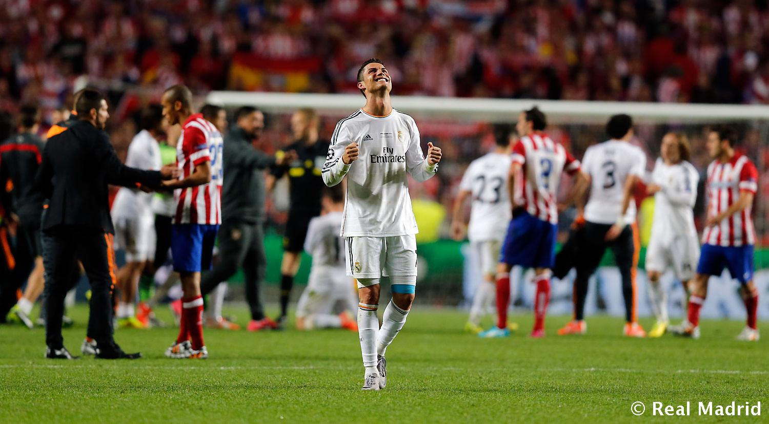 Real Madrid - Real Madrid - Atletico de Madrid - 25-05-2014