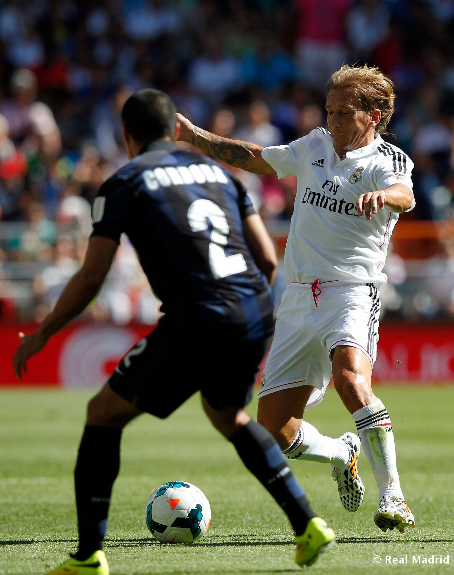 Real Madrid - Corazón Classic Match 2014 - 08-06-2014