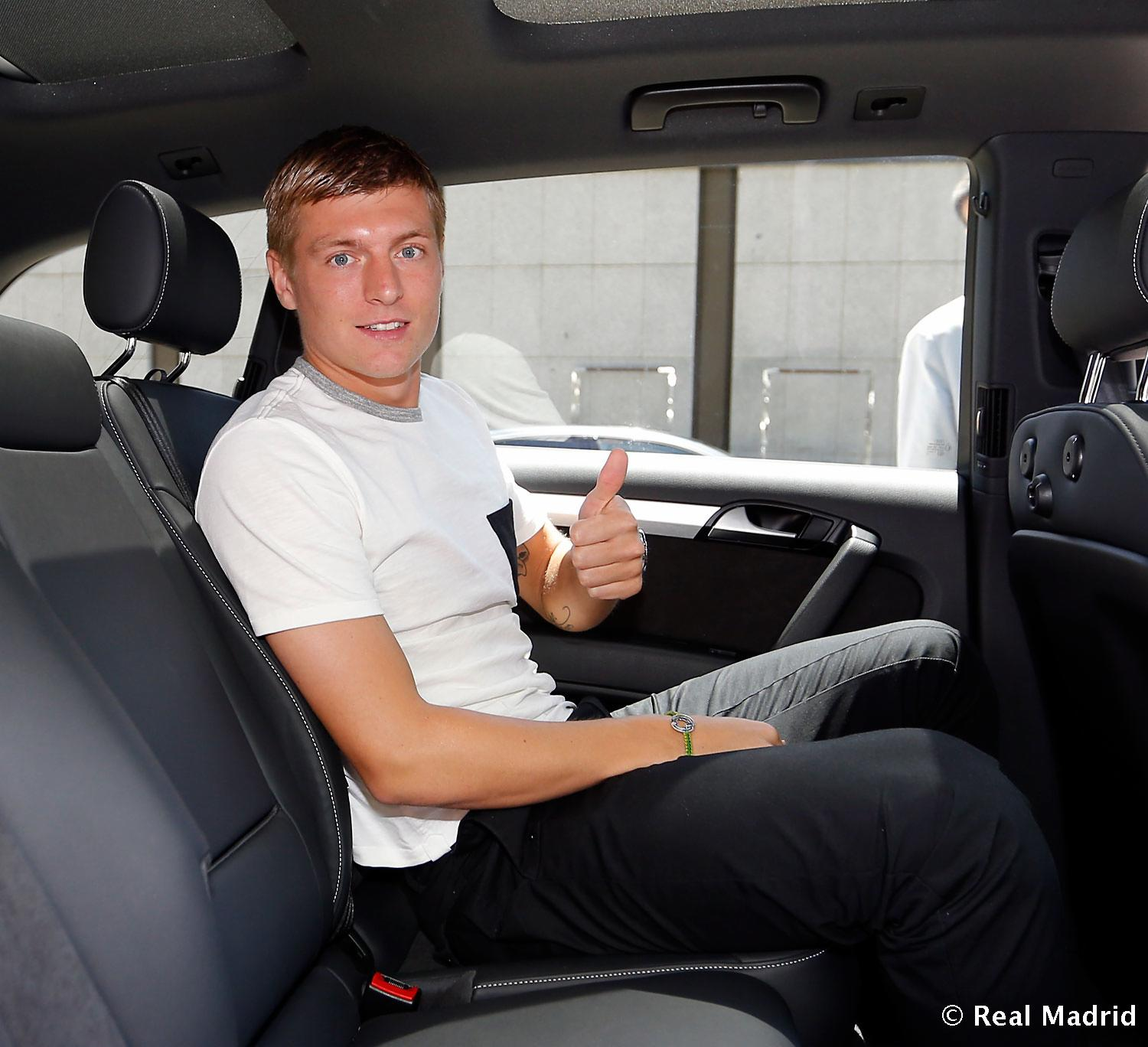 Real Madrid - Toni Kroos, en la ciudad Real Madrid - 17-07-2014