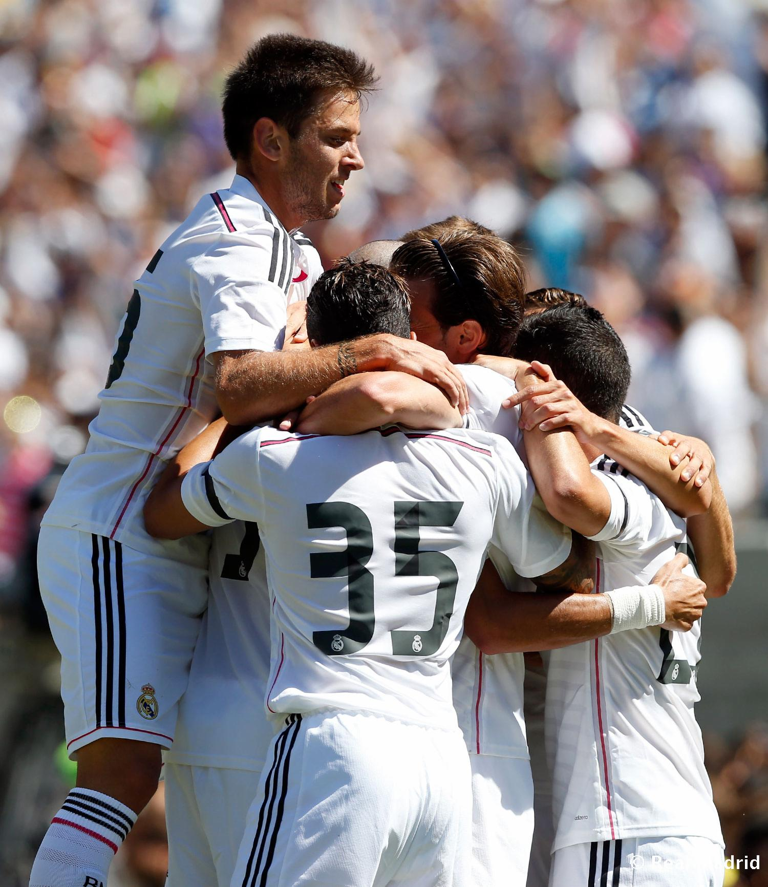 Real Madrid - Inter de Milán - Real Madrid - 27-07-2014