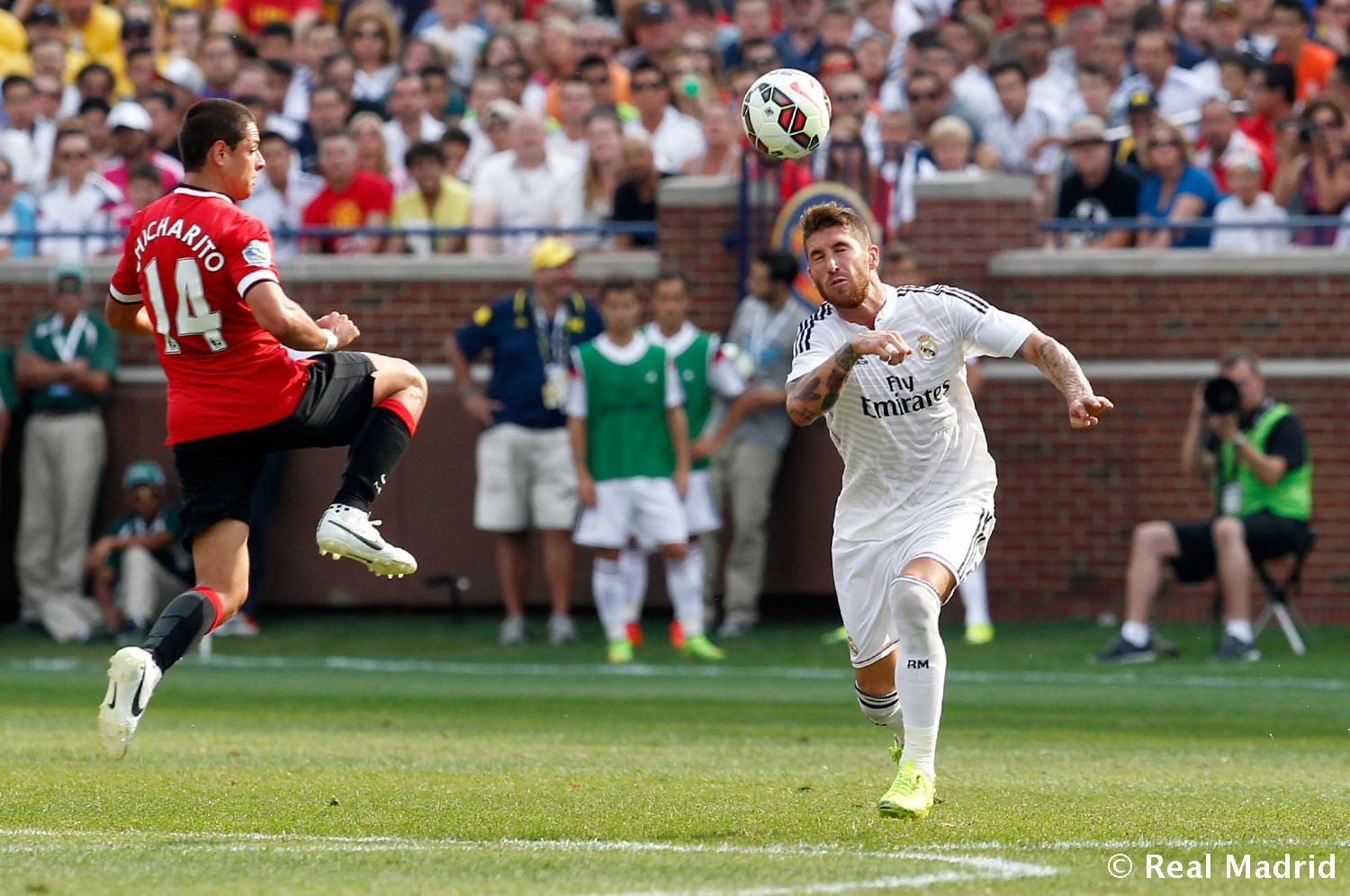 Real Madrid - Manchester United - Real Madrid - 03-08-2014