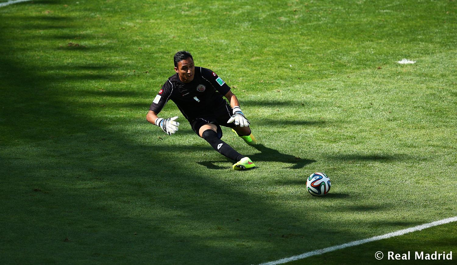 Real Madrid - Keylor Navas - 03-08-2014