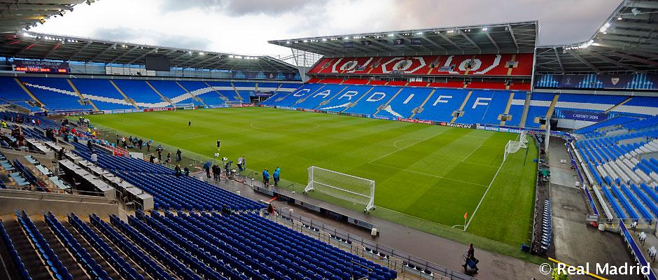 Real madrid will be playing in the cardiff city stadium for the first time real madrid cf - Cardiff city ticket office number ...