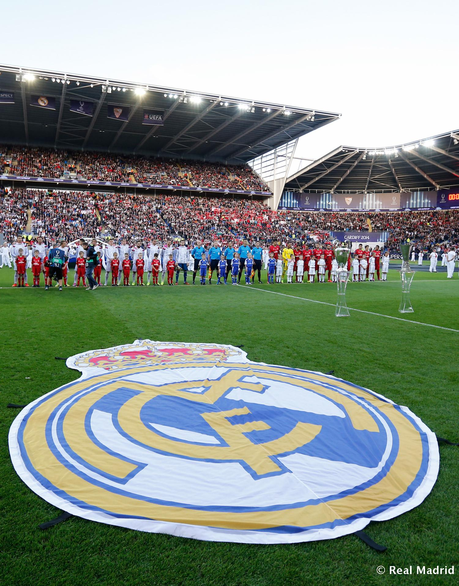 Real Madrid - Real Madrid - Sevilla - 12-08-2014