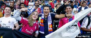 Real Madrid's universal appeal was evident in Cardiff