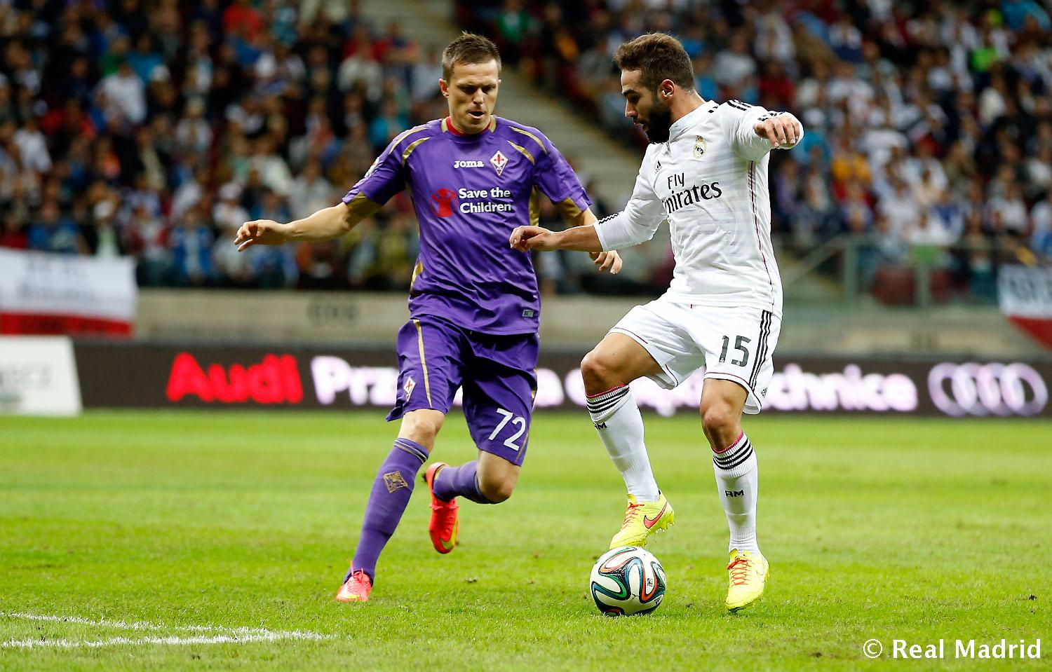 Real Madrid - Real Madrid - Fiorentina - 16-08-2014