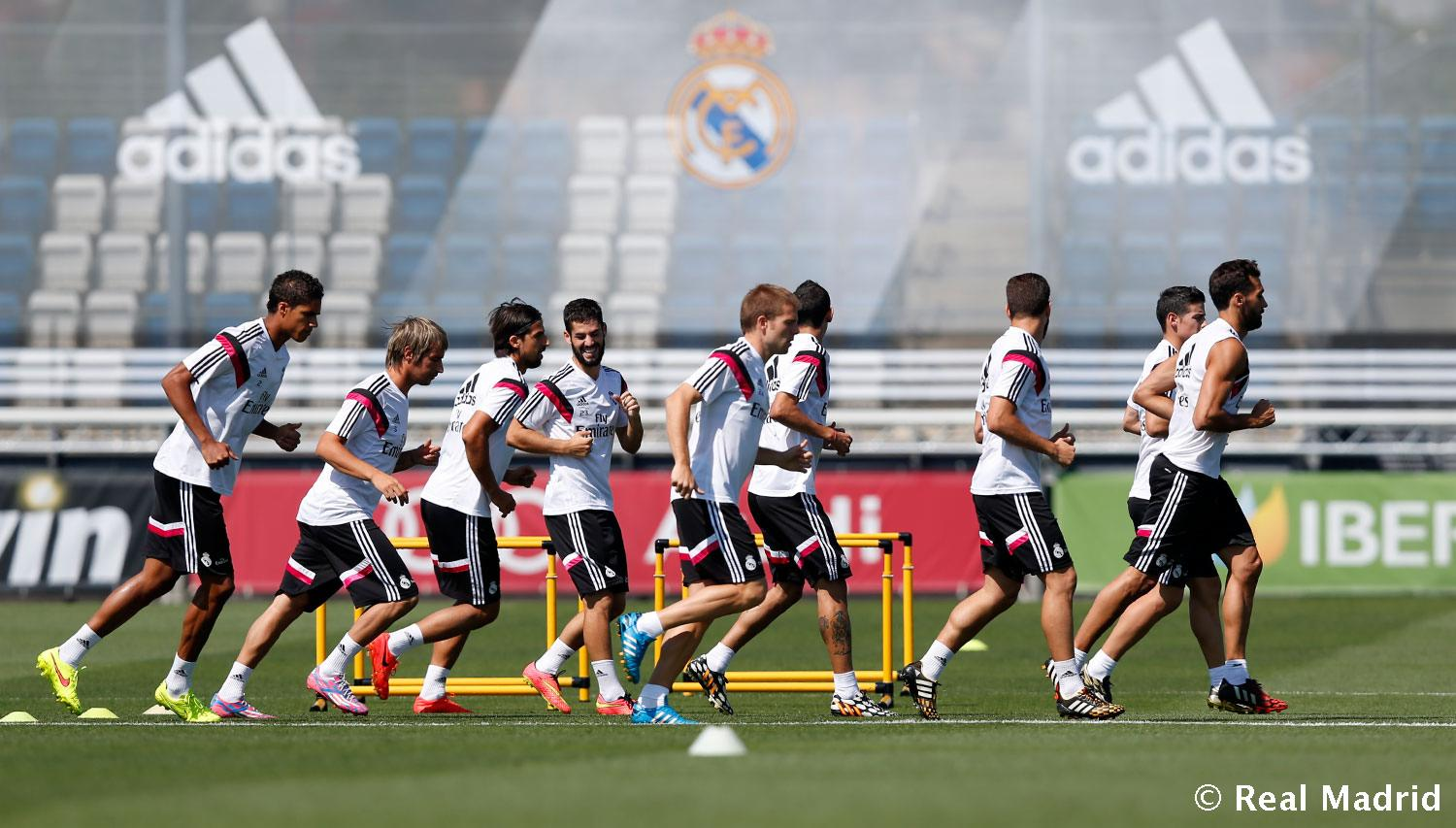Real Madrid - Entrenamiento del Real Madrid - 20-08-2014