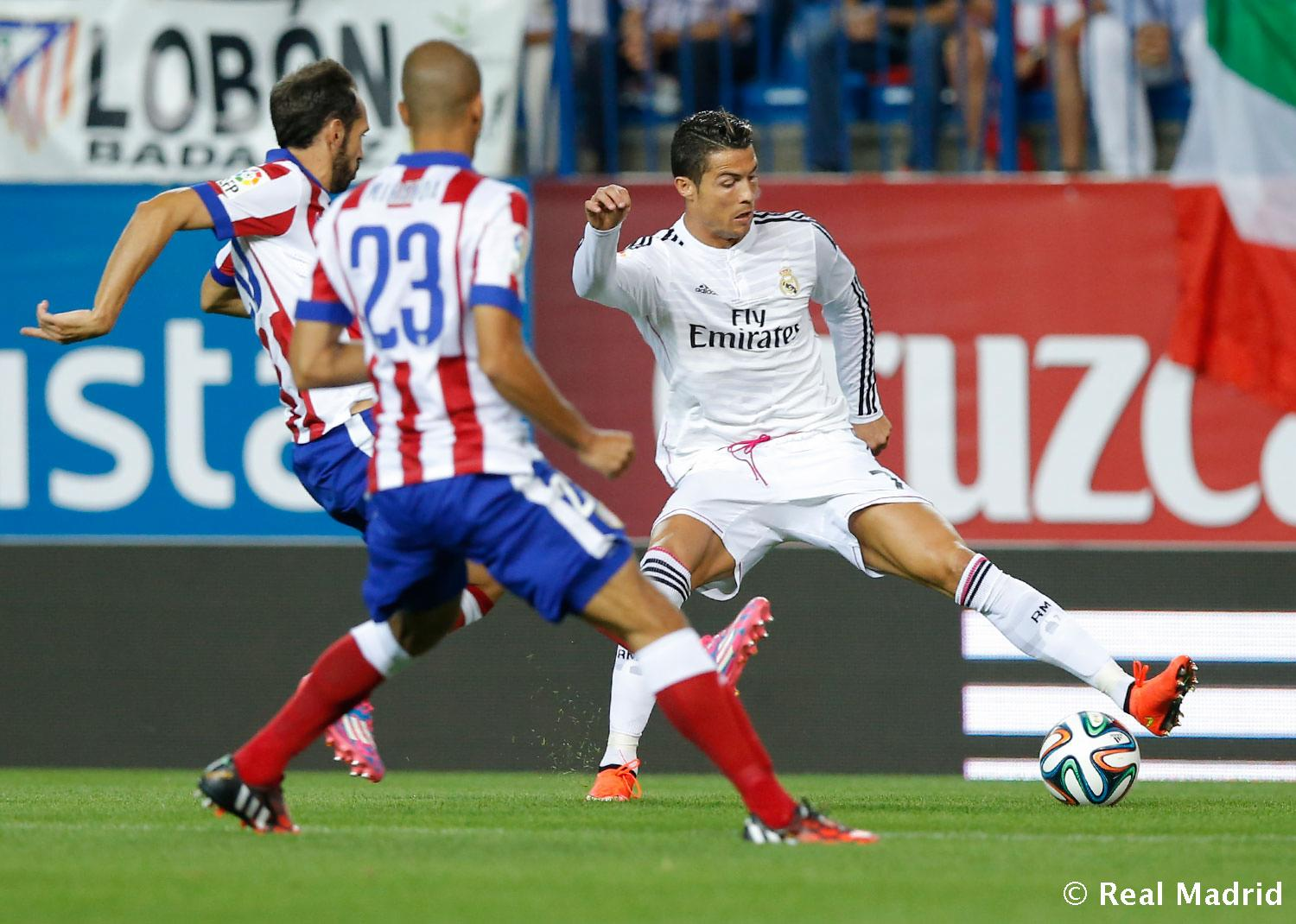 Real Madrid - Atlético de Madrid - Real Madrid - 22-08-2014