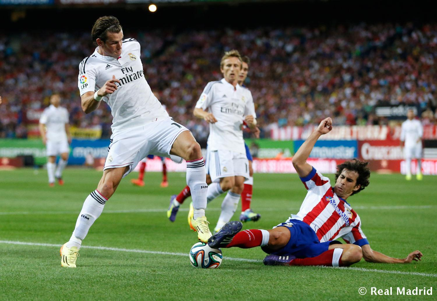 Real Madrid - Atlético de Madrid - Real Madrid - 23-08-2014