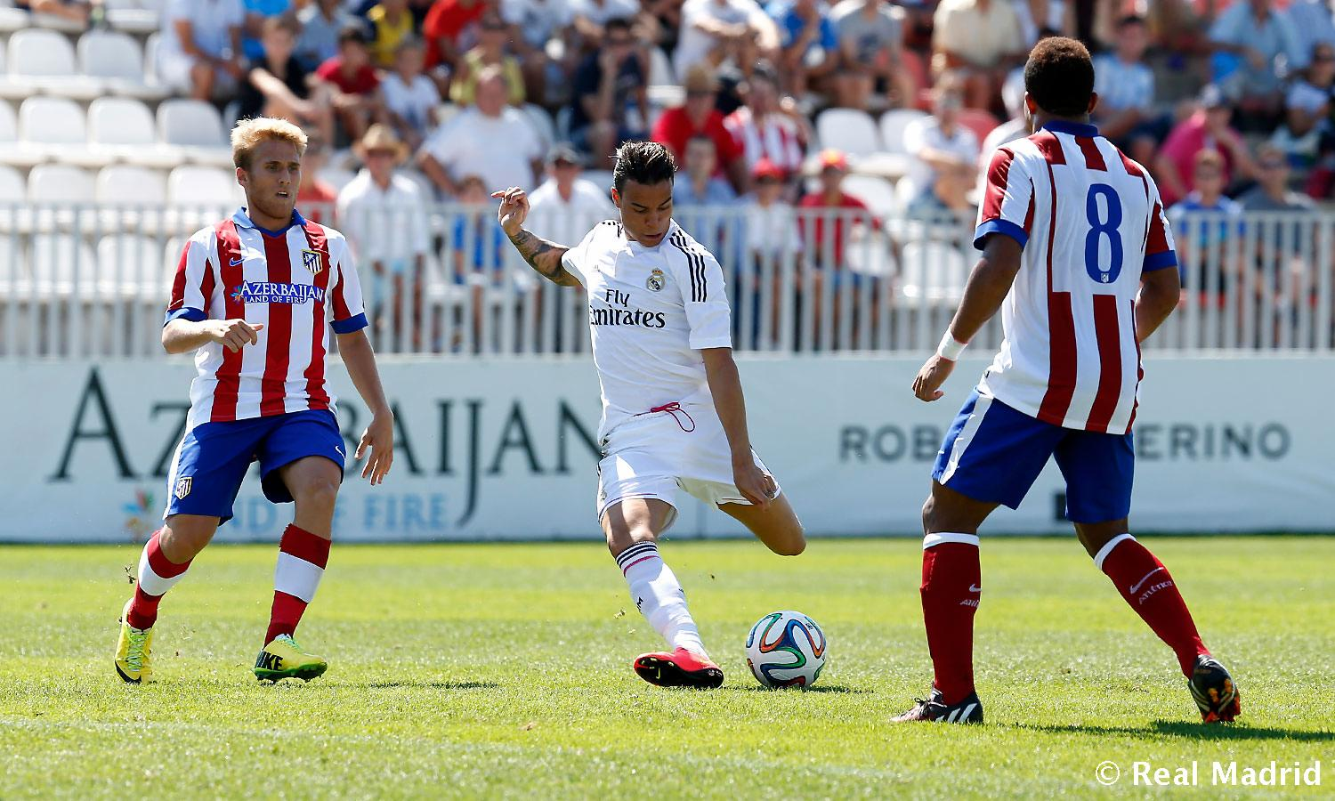 Real Madrid - Atlético de Madrid - Real Madrid Castilla - 24-08-2014